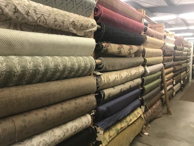 Home Decorative Fabrics Auction - Greensboro, NC