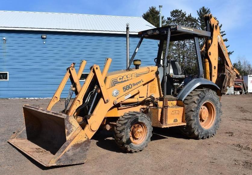 Utility Contractor Equipment: (2) Vermeer Drills, (2) Case Backhoes and More