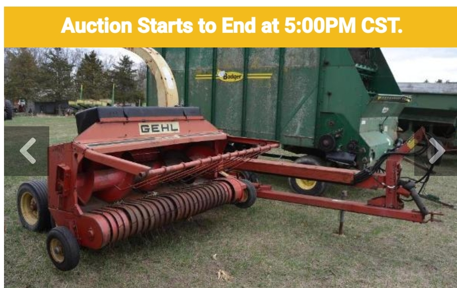 Tractors, Forage Equipment, Planting Equipment and More
