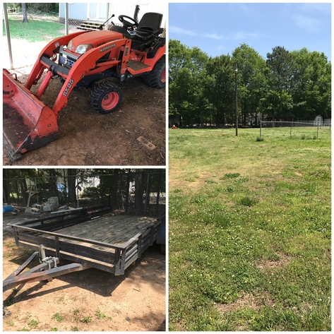 Bankruptcy Auction - Vacant Lot in Salisbury, NC & Tractor with Implements, & Trailers