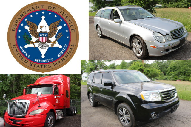 US Marshals Service Seized Vehicle Auction