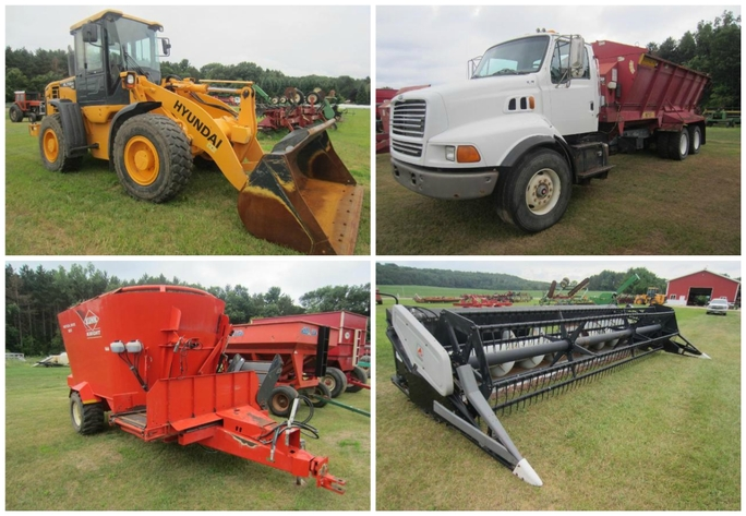 Lender Owned Farm Equipment - Black River Falls, WI | Hansen & Young