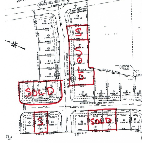 16 Subdivision Parcels in Clarksville OH