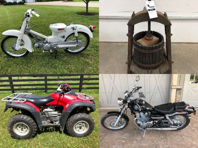 Cycles, Antiques, & Tool Auction