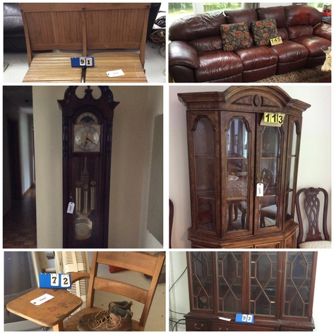 Furniture, Paintings, Household Items - Online Only