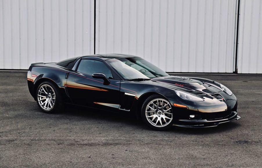 Custom 2011 Chevrolet Corvette Grand Sport 3LT Targa Top Manual Transmission w/ Hennessey HPE 800 Twin Turbo Package