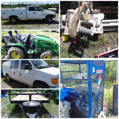 Bankruptcy Auction - Equipment, Tools, Plumbing Supplies - Online Only