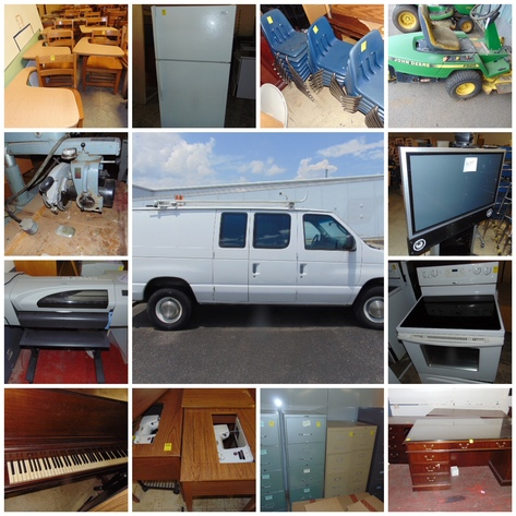 Surry County Schools - Furniture, Computers, Van and More!