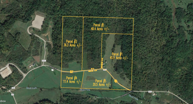 Eastern Guernsey Co . Land Auction