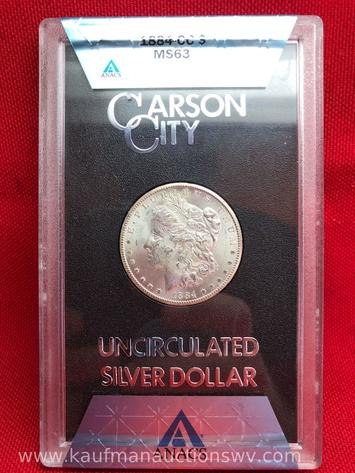 One Owner Coin Collection Online Only Auction