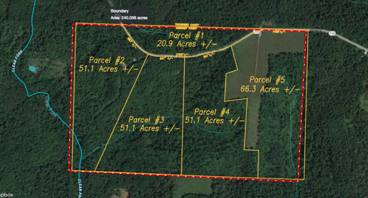 Guernsey Co Land Auction