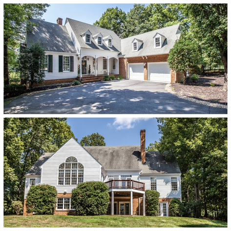 Immaculate 4 BR/3.5 BA Home Located in Charlottesville's Premier Gated Community of Glenmore