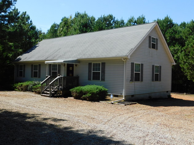 3 BR/2 BA Home w/Large Work Shop on 3.8 +/- Acres in Orange County, VA