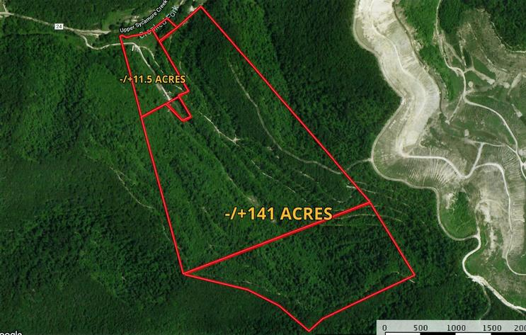 Absolute Nicholas County 152.5 -/+ Acres Online Only Land Auction