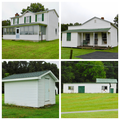 5 BR Farm House & Several Outbuildings on 14 +/- Acres in Orange County, VA--Selling to the Highest Bidder!!