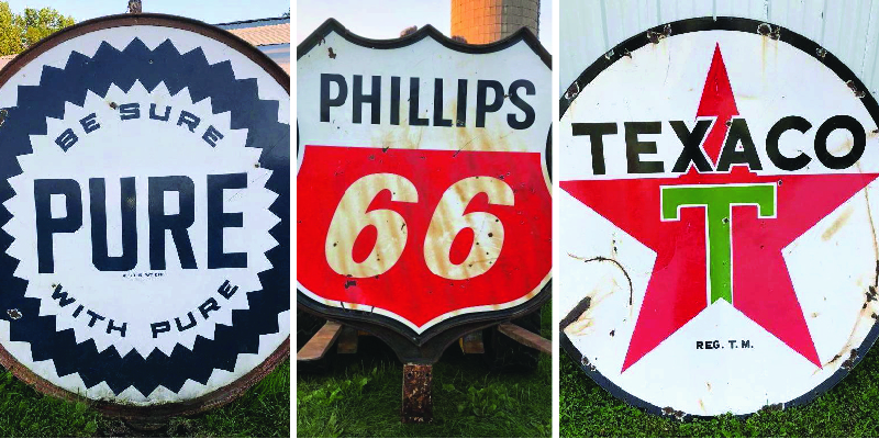 Vintage and Collectible Signs and Memorabilia