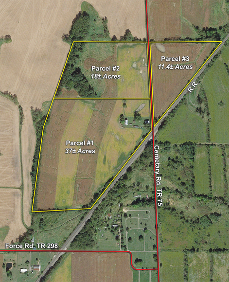 66 ACRE WAYNE COUNTY FARM