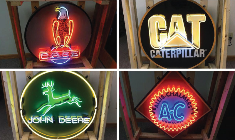 (6) New Classic Neon Signs