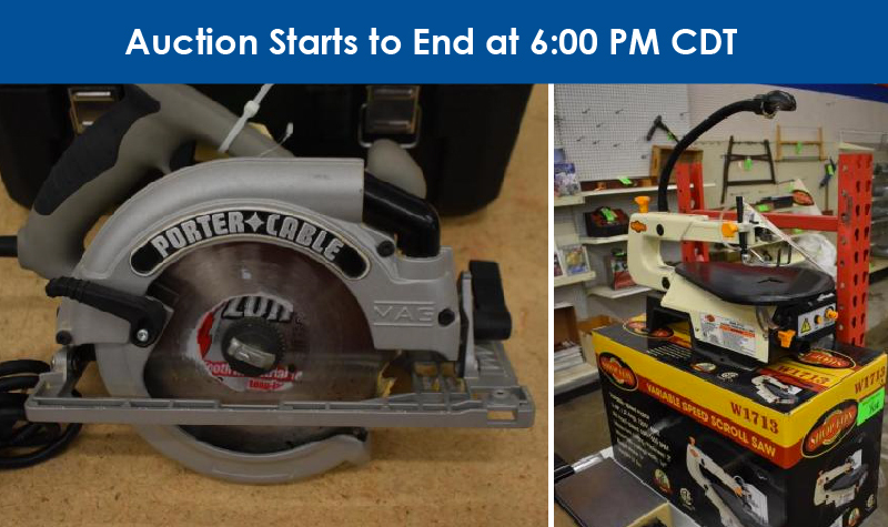 2/7 Tried & True Tools Retirement Auction