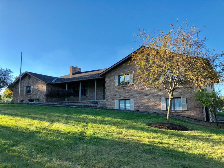 GREAT BRICK RANCH HOME and ACREAGE ABSOLUTE AUCTION