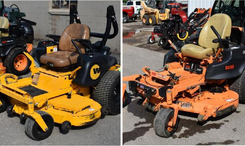 Fall Inventory Reduction: Construction and Landscaping Equipment