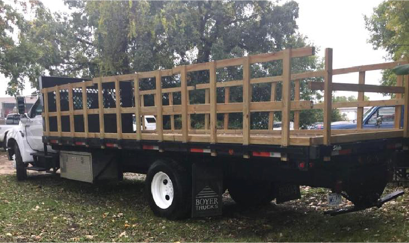 2006 Ford F-650 XLT Super Duty Flatbed
