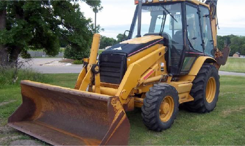 Construction Equipment and (3) Day Cab Tractors