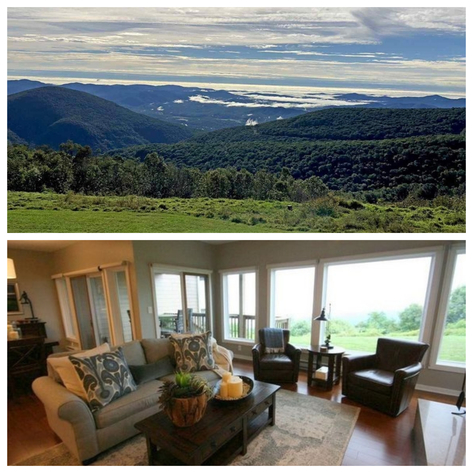 Image for Immaculate Totally Renovated 2 BR/2 BA Luxury Condo atop Black Rock Mountain at Wintergreen Resort--ONLINE ONLY BIDDING!!