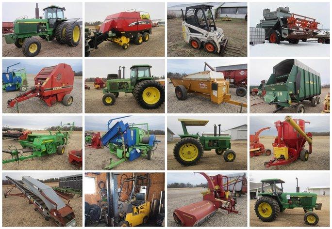 Estate Farm Equipment - Eau Galle, WI | Hansen & Young, Inc