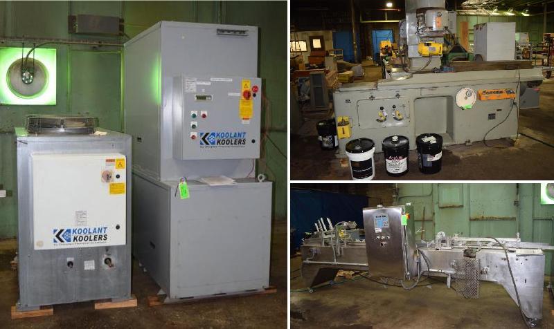 Company Relocating Machine Shop Surplus