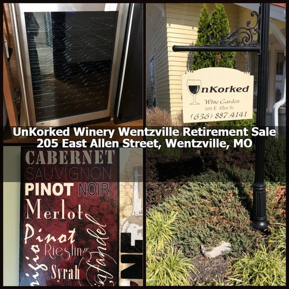 Unkorked Wine Garden – Retirement Auction
