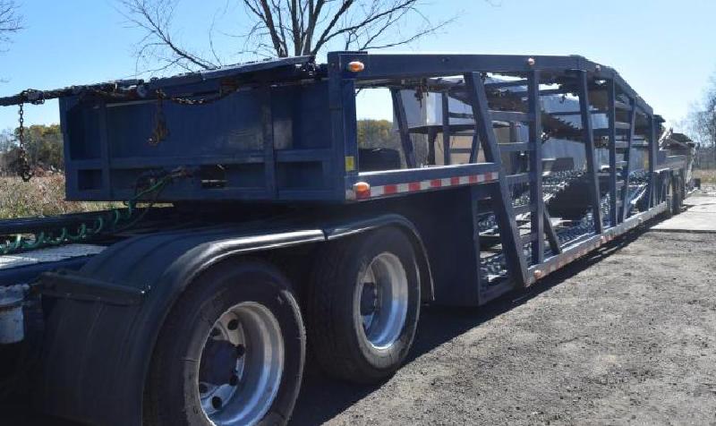 2001 Freightliner, 2008 53' 7-Car Hauler, Surplus Truck and Auto Equipment