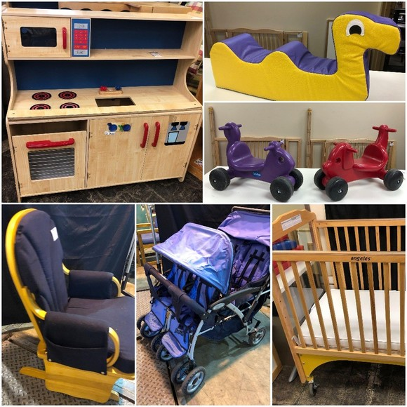 Name Brand Day Care Stock Up Auction