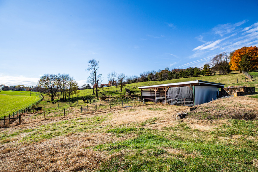 Featured Image for Bear Wallow Farm/David Fultz House:  35 +/- Acres--Immaculately Restored and Historic 4 BR Home, Barn, Pastures & Fencing