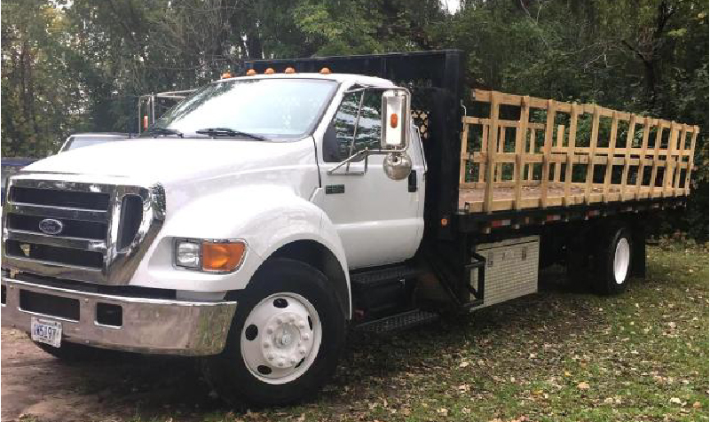 Flatbed and Box Trucks - (3) Pickups