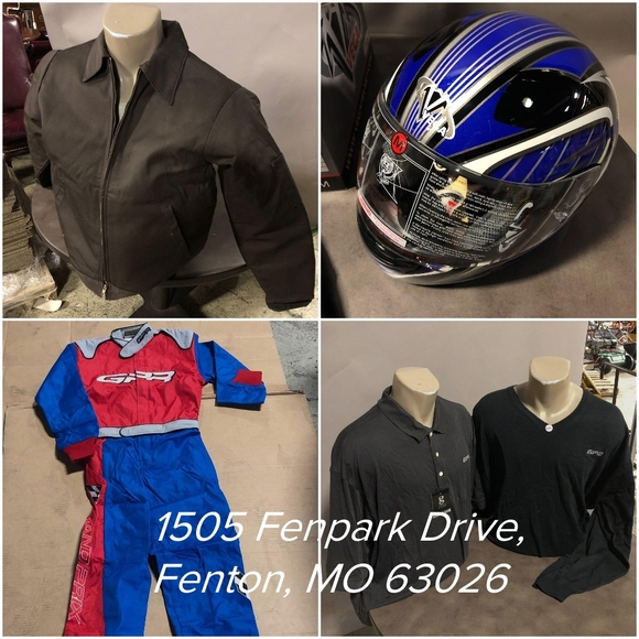 Racing and Motorsport Gear Stock-Up