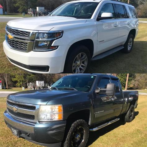 Pickup Trucks, Box Trucks, Vehicles and Trailers