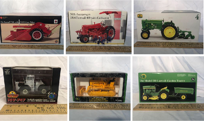 Precision John Deere Collectible Set, Tools and Household Items