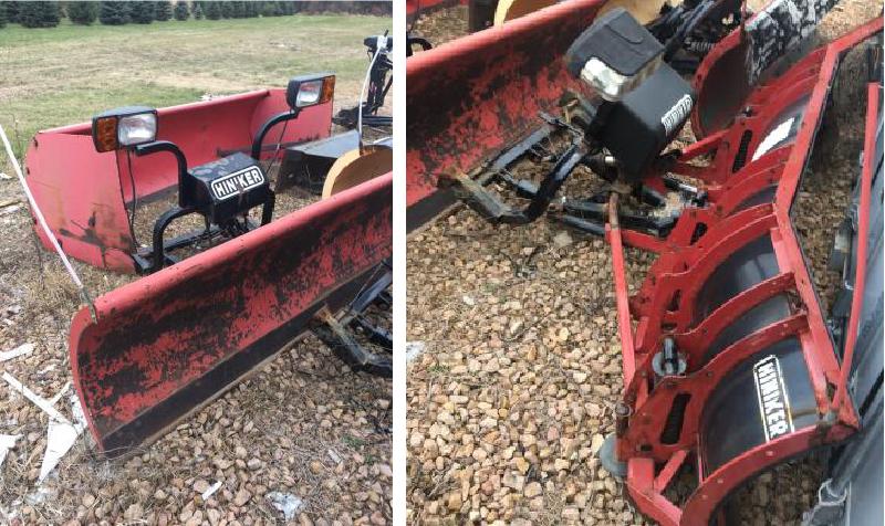 (5) Snow Plows, Snow Plow Trucks and Utility Trucks