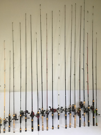 Fishing Pole Online Only Auction