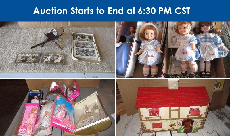 Antiques, Dolls, and Collectibles Auction: Barb Ross Owner
