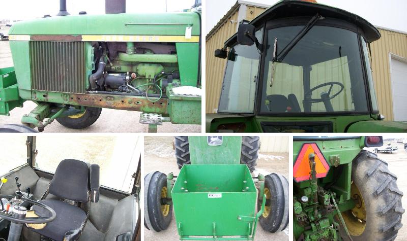 Komatsu FG18HT-16 Forklift - 1974 John Deere 4230 Tractor