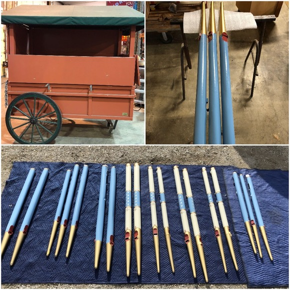 Cart and Pipe Auction