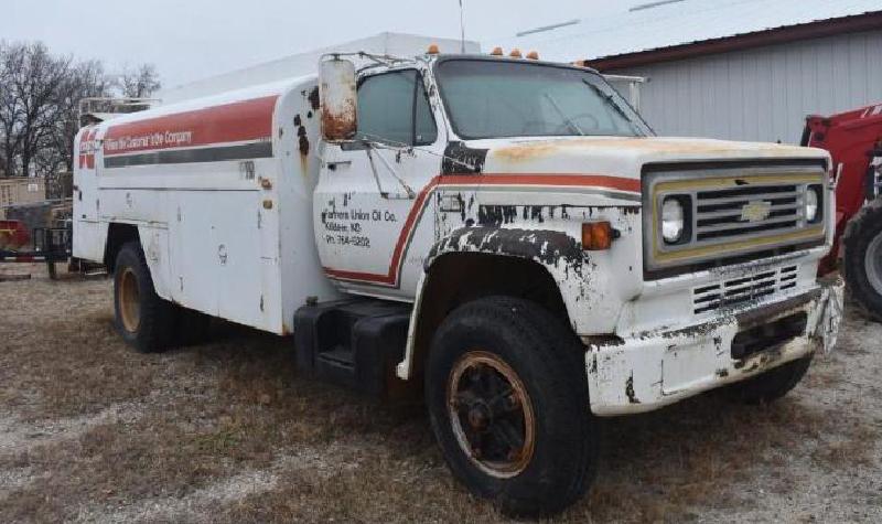 1989 Chevrolet C70 Fuel Truck