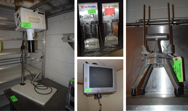 Dairy Queen Restaurant Equipment