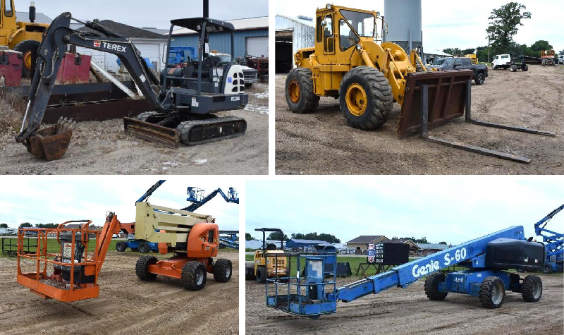 Well Maintained Rental Equipment