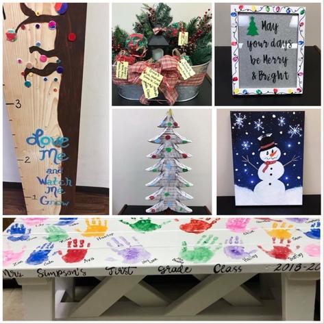White Plains Elementary PTO Christmas Auction