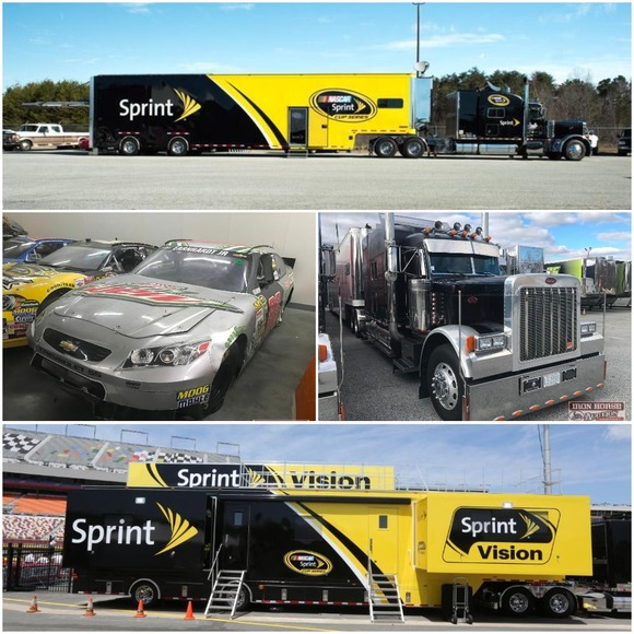 NASCAR Race Cars, Show Cars, Vision Big Screen Trailer, Office Trailer, Car Haulers and Much More