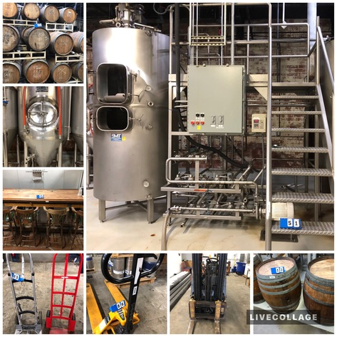 Brewery Equipment & Assets of Mystery Brewing Company