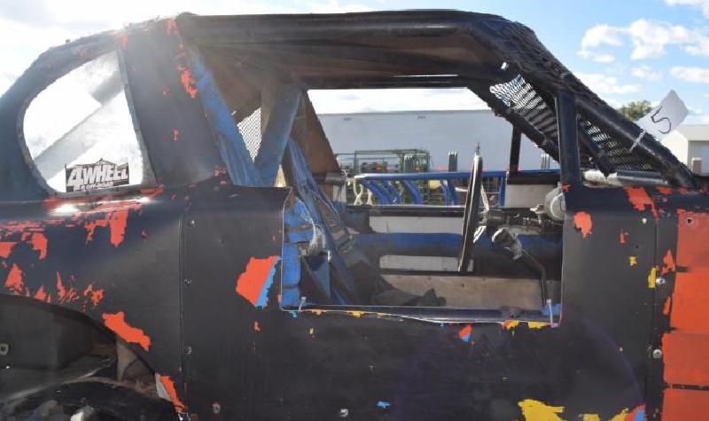 Toyota 4-Runner Under Carriage